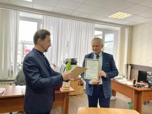 Самарский ОНФ поздравил победителя конкурса на лучшую программу образовательного волонтерства!