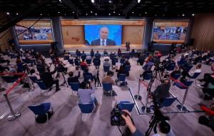 Российский лидер отметил, что страна отвечает соразмерно действиям партнёров.