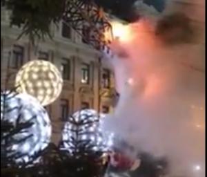 Пожар на открытии главной елки Украины мог устроить мэр Киева