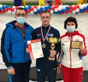 Кирилл Бородачев - единственный рапирист, который занимал призовые места на всех трех всероссийских турнирах нового сезона 2020/2021.
