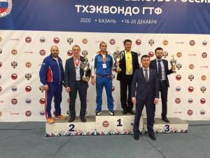 Самарская область - серебряный призер чемпионата России по тхэквондо ГТФ