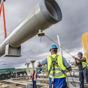 """Строительство сухопутной части газопровода """"Северный поток – 2"""" завершено"""
