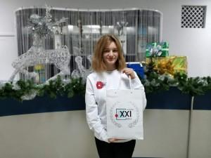 В номинации «Лидер детского/молодежного общественного объединения» победила Марина Абрамова из Отрадного Самарской области.