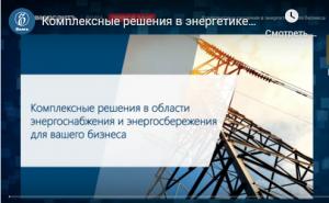 Энергосбыт Плюс и ЕЭС-Гарант провели онлайн-семинар Комплексные решения в энергетике для бизнеса