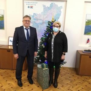Среди заявок жителей регионов Приволжского федерального округа было пожелание Ольги Петровны Головиной из Самарской области.