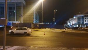 В Ленинском районе Самары водитель сбил пешехода