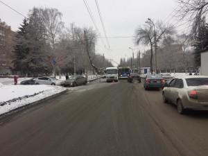 В Самаре в ДТП с автобусом пострадали две женщины