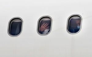 В результате инцидента вылет был задержан более чем на час.