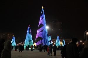 Стало известно, как самарцы оценивают главную новогоднюю елку город