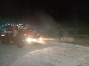 В Рождествено горело здание администрации