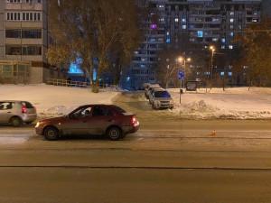 В Самаре молодая автомобилистка сбила женщину