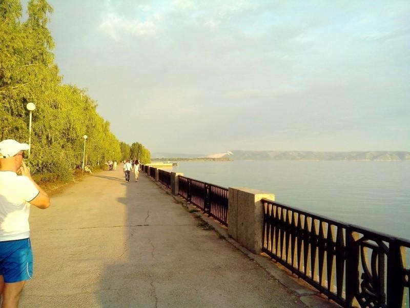 Первую очередь набережной Автозаводского района Тольятти реконструирует «Волгатрансстрой»