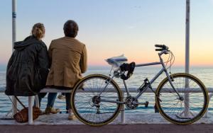 Теперь вместе с велосипедами в магазинах будут выдавать наклейку с регистрационным номером и QR-кодом.