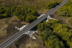 Итоги 2020: на востоке Самарской области благодаря нацпроекту обновлена дорога и капитально отремонтирован мост