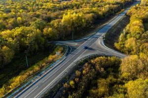 В 2020 году отремонтировали участок трассы протяженностью 12,6 км.