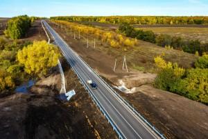 Больше 43 км региональных дорог отремонтировали в Похвистневском районе
