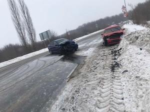 В Самарской области в ДТП в снегопад пострадали двое детей