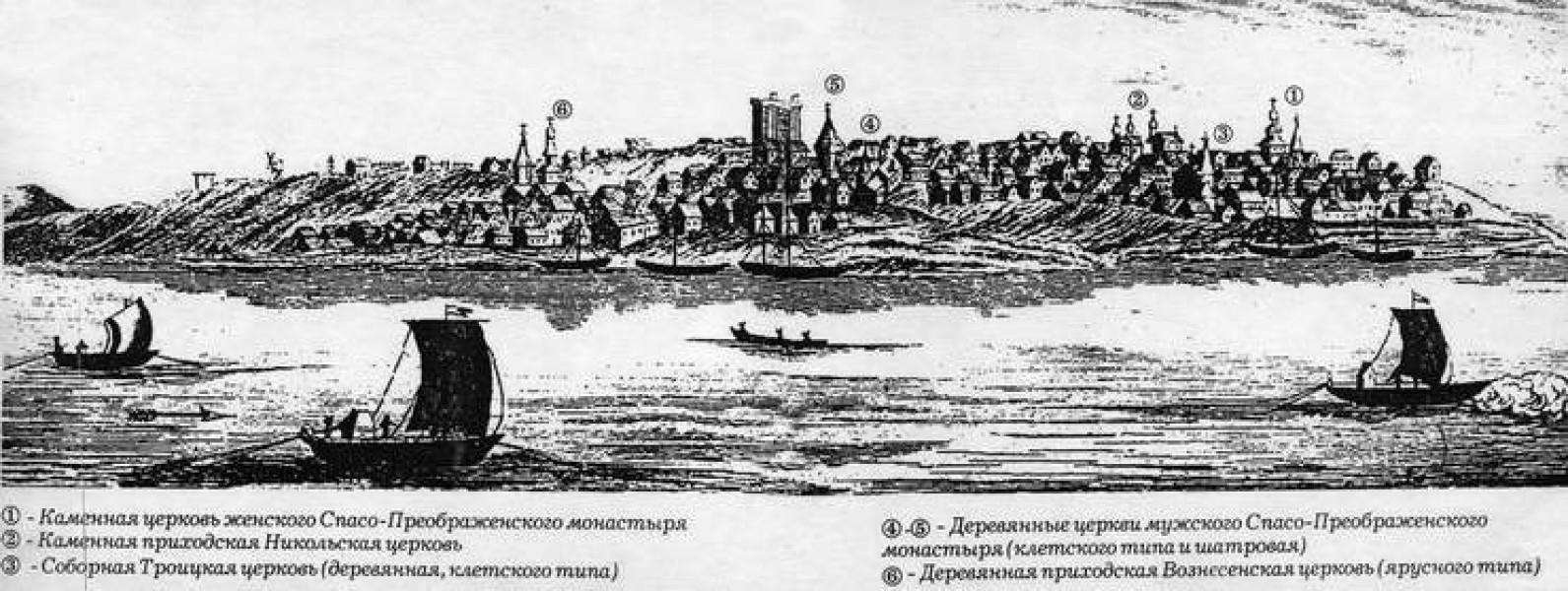 """В заметках английского """"блогера"""" XVIII века найдено первое достоверное изображение Самары"""