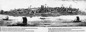 В заметках английского блогера XVIII века найдено первое достоверное изображение Самары