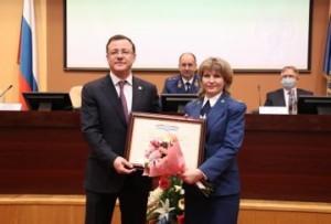 Дмитрий Азаров поздравил работников и ветеранов органов с Днем работника прокуратуры