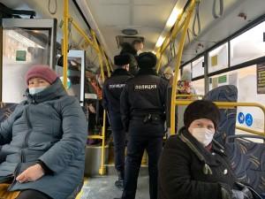 В Самаре проходят рейды по контролю за соблюдением масочного режима  в общественном транспорте