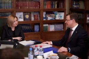 Стороны обсудили важнейшие для Самарской областипроекты по строительству объектов культуры.