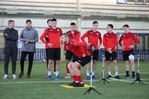 По результатам тестирования тренерский штаб во главе сИгорем Пикущакомсмог оценить скоростные возможности игроков и их умение быстро реагировать.