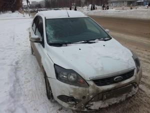 В Тольятти иномарка сбила женщину