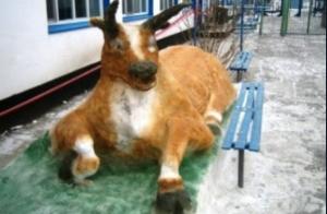 Каждую зиму во всех исправительных учреждениях Самарской области проходит ставший уже традиционным конкурс фигур из снега и льда.