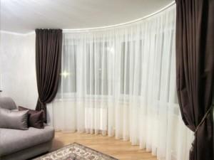 Шторы для дома это важный элемент у каждого окна, вы можете подобрать плотные шторы из тюля обратившись в helga.
