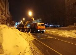 Уборка снега стала главной темой на оперативном совещании мэра города.