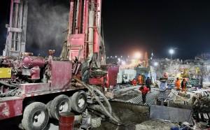 Взрыв на золотом руднике в районе Цися произошел днем 10 января, примерно в 240 мот входа в шахту.