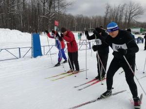 В Самаре состоялся чемпионат Управления Росгвардии по зимнему офицерскому троеборью