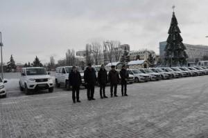 Машины, полученные по линии Минпромторга России, передали в 9 районов Самарской области.