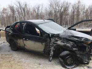 Смертельное ДТП в Волжском районе: один погиб, пятеро пострадали