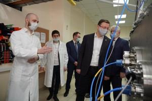 Дмитрий Азароввстретился со студентами, аспирантами и преподавателями Самарского университета.