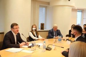 В День российского студенчества Дмитрий Азаров встретилсясо студентами СамГТУ, которые увлекаются урбанисткой.