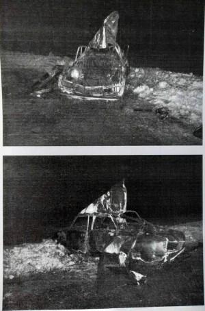 Житель Октябрьска поехал по делам на угнанном автомобиле, но машина в пути задымилась
