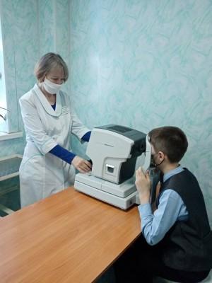 В отделении проведен ремонт, появилась яркая навигация и новое медицинское оборудование.