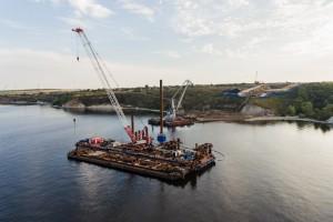 На стройке Климовского моста опять ЧП — утонул водолаз