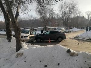 В Самаре два водителя пострадали в ДТП