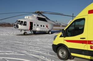 Пожарно-спасательными подразделениями проводятся работы по деблокировке людей.