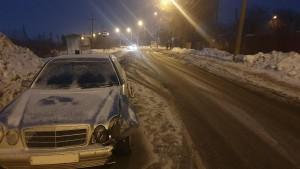 В Куйбышевском районе Самары водитель сбил пешехода в темноте