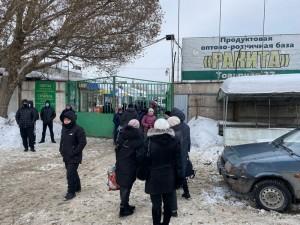 В Самаре закрылся рынок Ракита на ул. Товарной