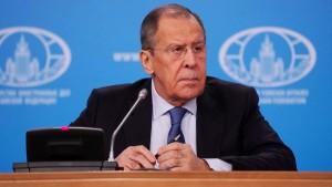 Глава МИД России отметил, что западные страны не предъявят доказательств.