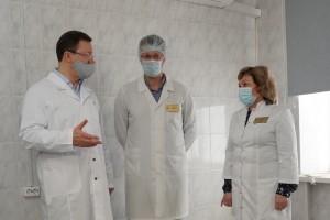 За центром онкопомощи ГБ 4 закреплены жители трех районов областного центра-Ленинского, Самарского и Октябрьского – всего почти 157 тысяч человек.