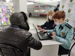 На железнодорожном вокзале в Самаре нашли должников