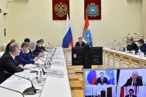 Дмитрий Азаровпровел традиционную встречу с сенаторами Совета Федерации и депутатами Госдумы, представляющими Самарскую область.