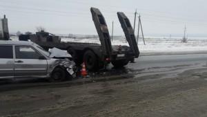 В ДТП в Красноярском районе пострадали двое