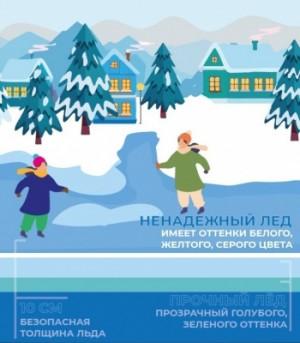 Обращаем внимание, что на спусках к рекам Волга и Самара расставлены предупреждающие аншлаги «Переход (переезд) по льду запрещен».